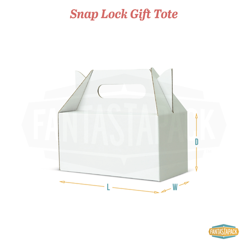 Snap Lock Gift Tote
