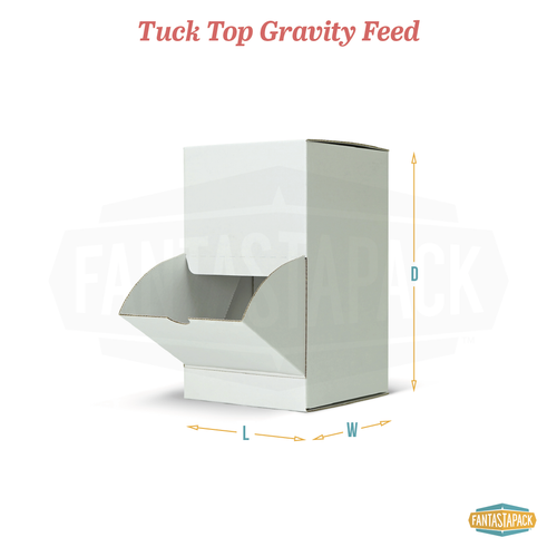Tuck Top Gravity Feed