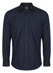 Career Plain Poplin Slim Fit Shirt