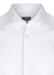 Career Plain Poplin Slim Fit Shirt - 1520L