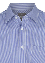 Gingham Check Short Sleeve Shirt