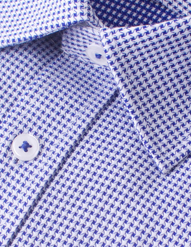 Houndstooth Business Shirt