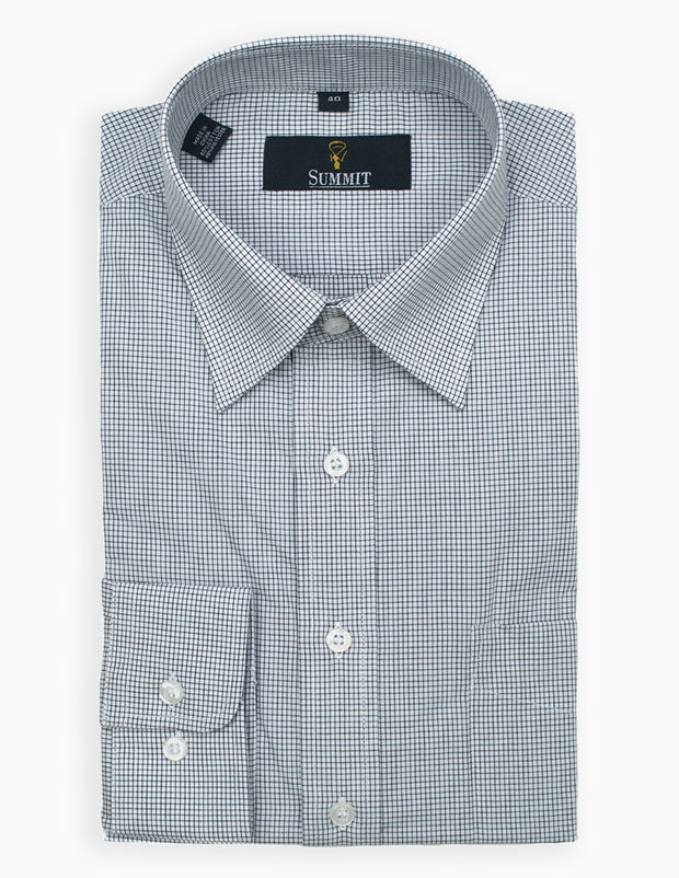 Mini Check Business Shirt