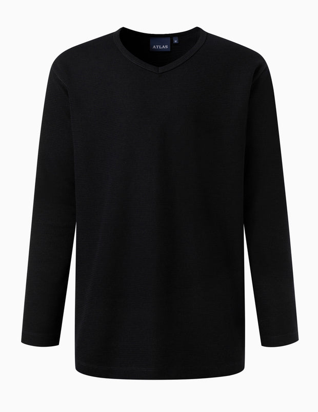 V-Neck Essential Lightweight Jumper