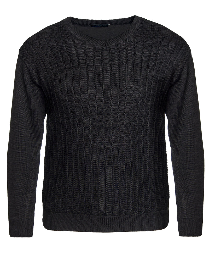 V- Neck Knitted Pullover