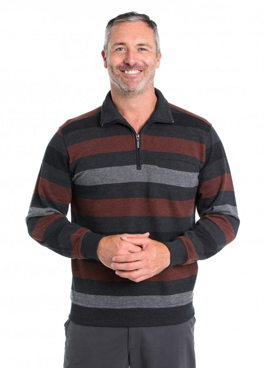 Nikau French Rib Half Zip