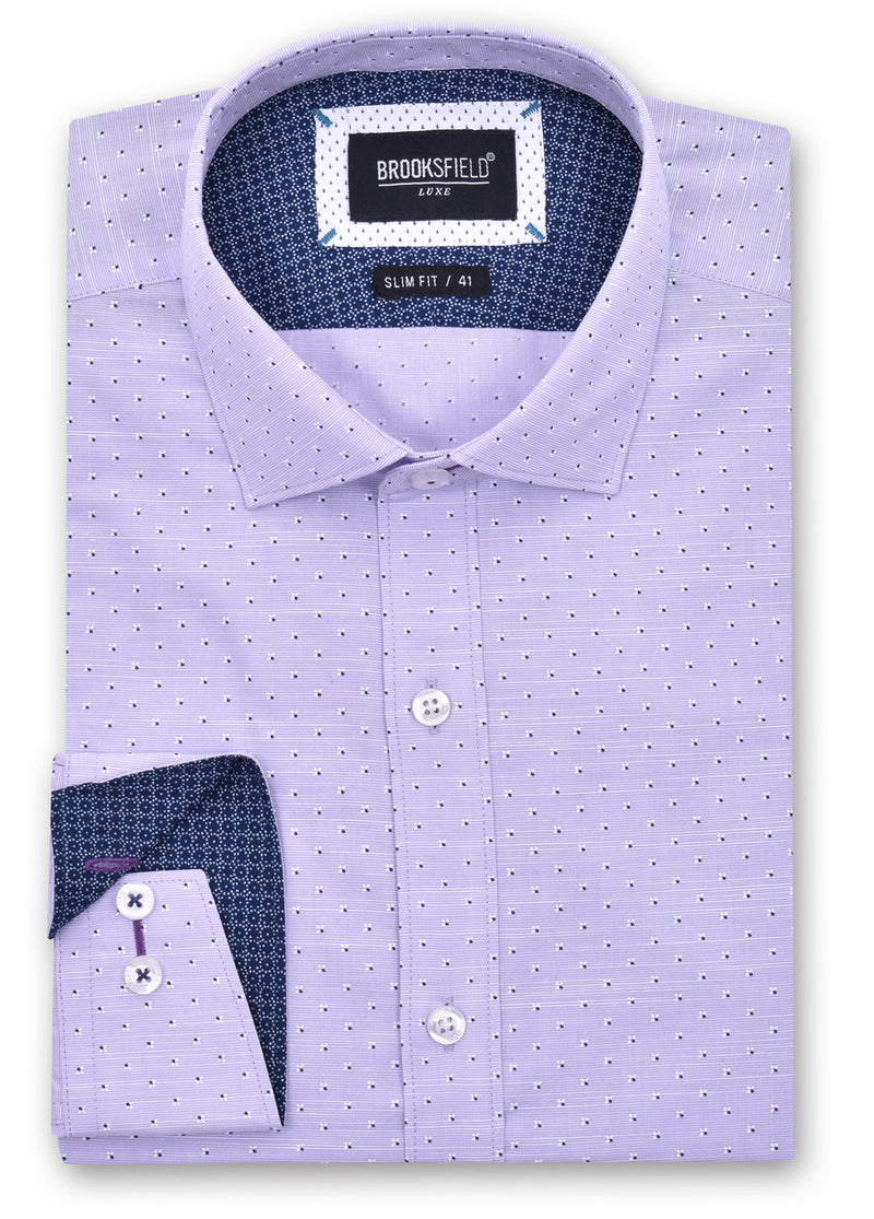 Luxe Printed Business Shirt