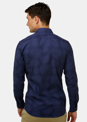 Tonal Jacquard Business Shirt
