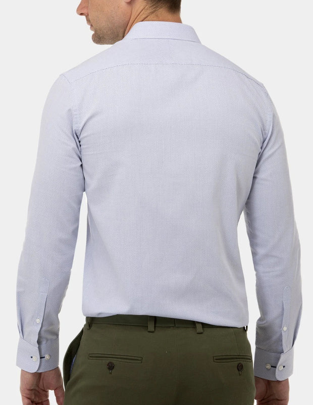 Textured Dot Career Business Shirt