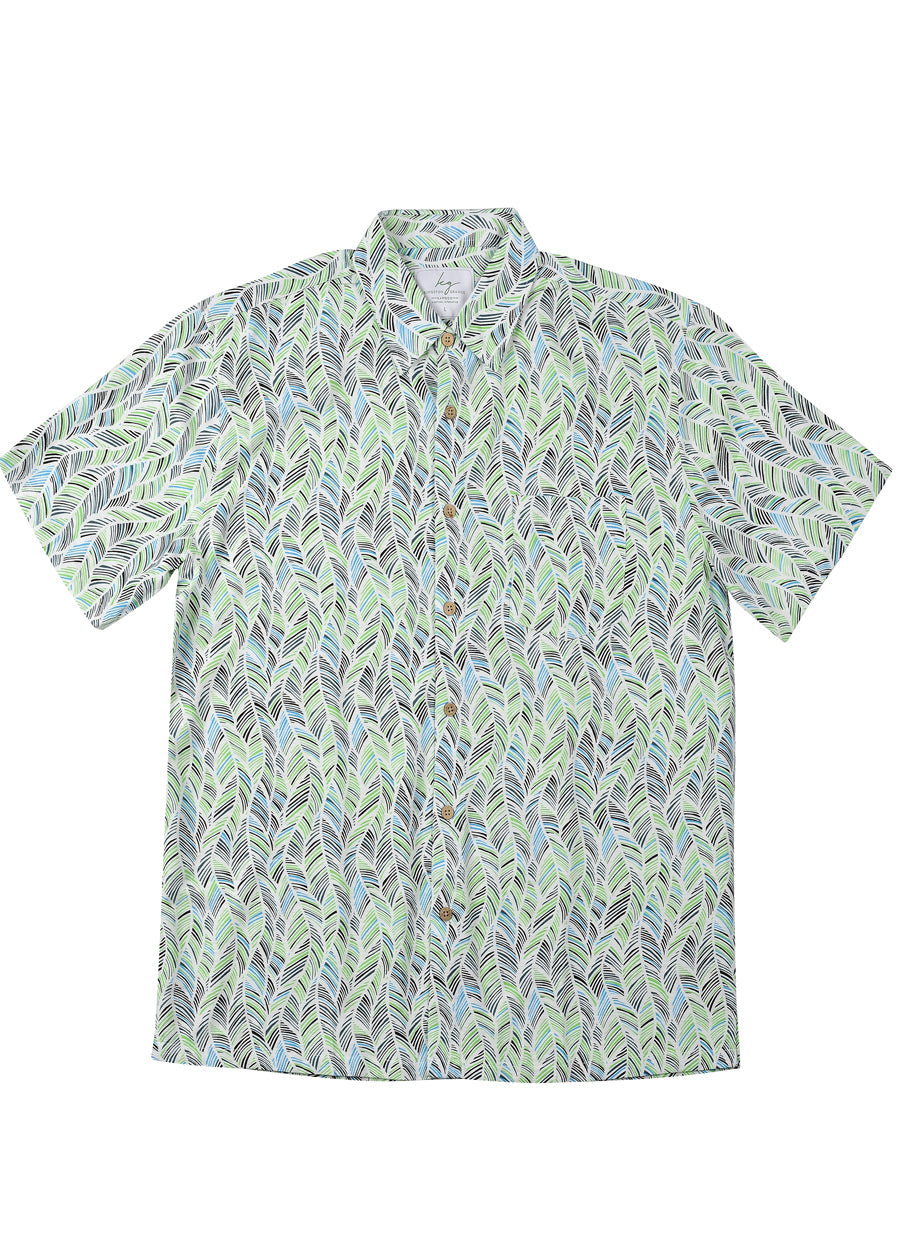 Green Leaf Bamboo Shirt