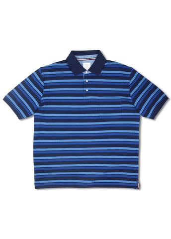 Back Bay Navy Merton Polo