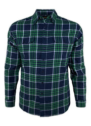 Large Check L/S Flannelette Shirt