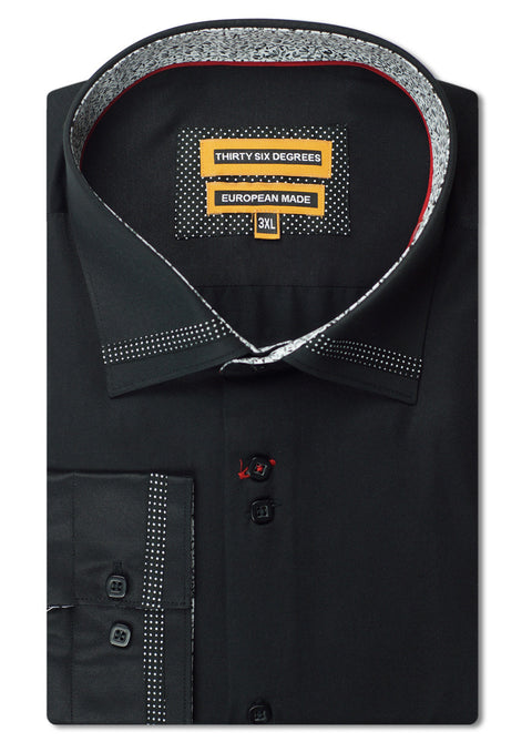 Thirty Six Degrees Black Sutton Shirt