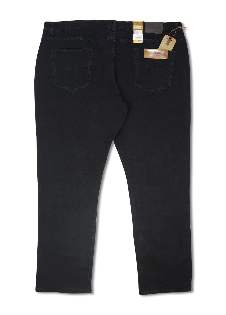 Cotton Stretch Ribbed Jeans