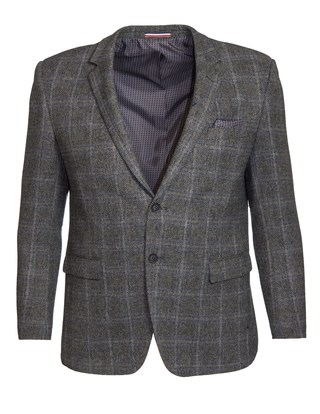 Daniel Hechter DH378 Tweed Shape Coat