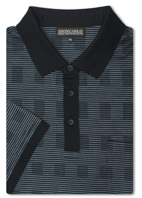 Dion Carlo Alvise Double Mercerised Polo