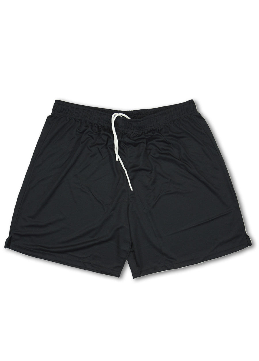 Ellusion Black Active Mesh Sport Shorts