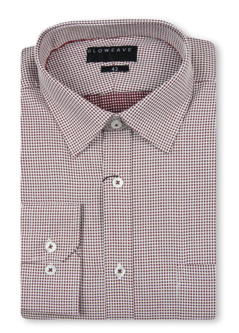 Gloweave 1757L Burgundy Contemporary Fit Shirt