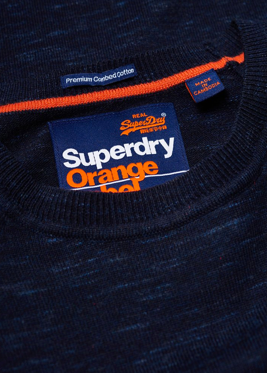 Orange Label Cotton Crew Knit