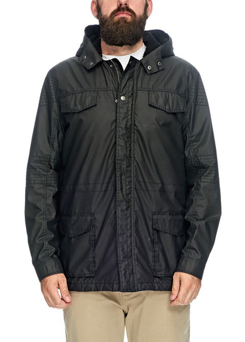 Hammersmith Black Caleb Military Jacket