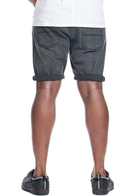 Hammersmith Washed Black 0H61D3 Denim Short