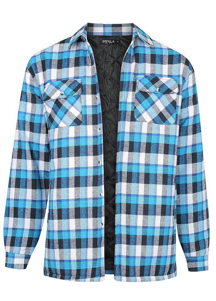 Quilted Flannelette Shirt
