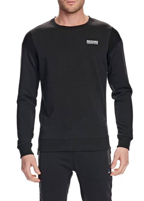 Mossimo Black 0M85FR Terry Crew Neck Pullover