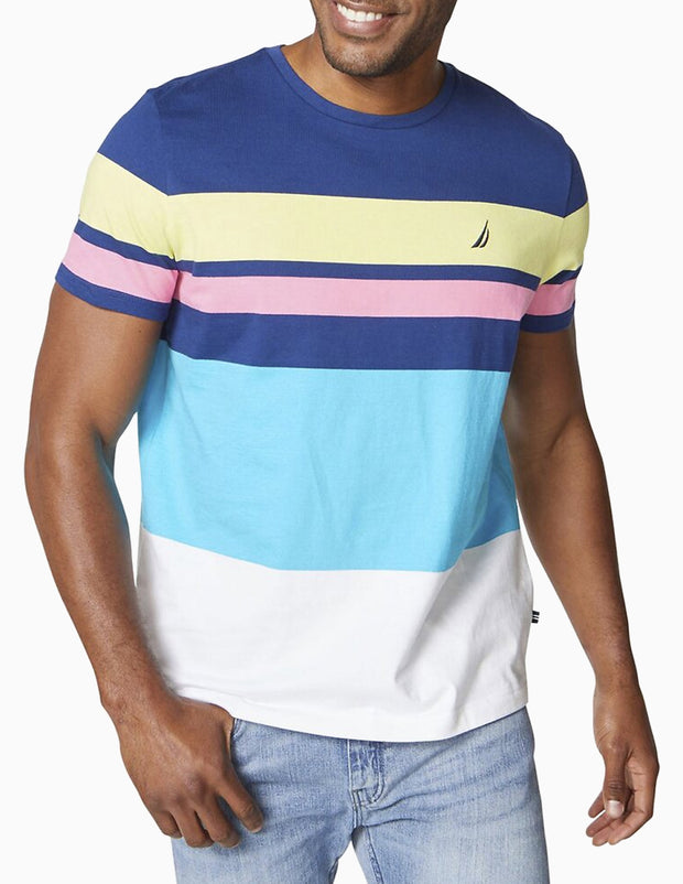 Engineered Stripe Tee