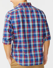Wrinkle-Resistant Plaid Shirt