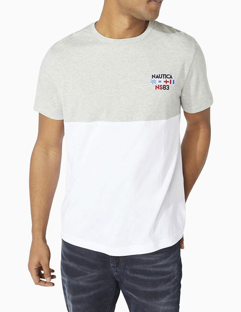 Embroidered Flags Tee