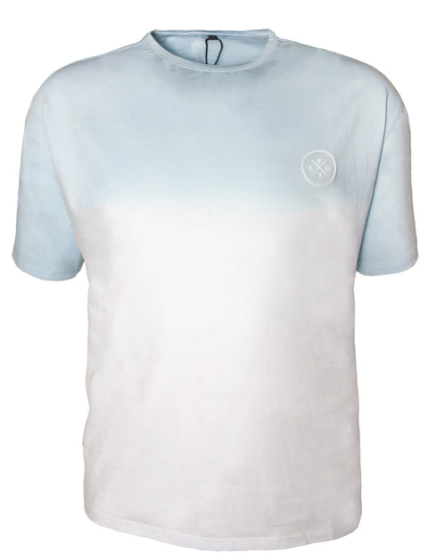 Plot Light Blue B81T36-LB Cotton S/S Tee