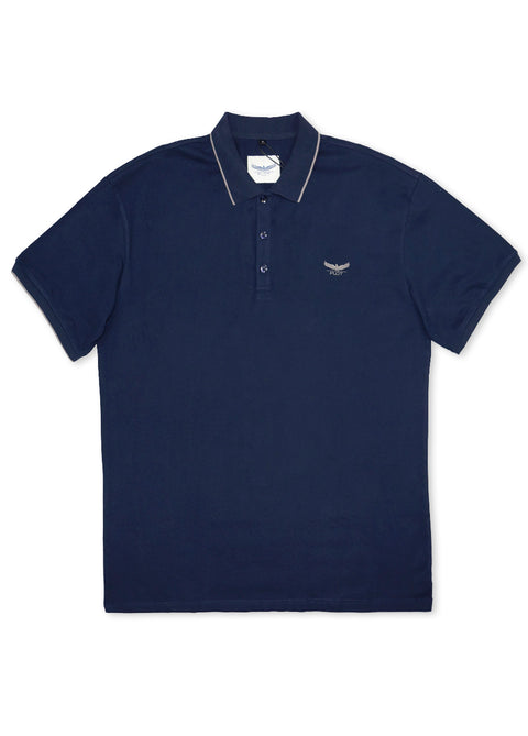 Plot Navy B7P16 Short Sleeve Polo