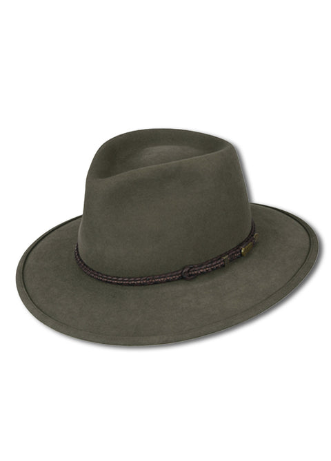 Akubra Regency Fawn Traveller Hat