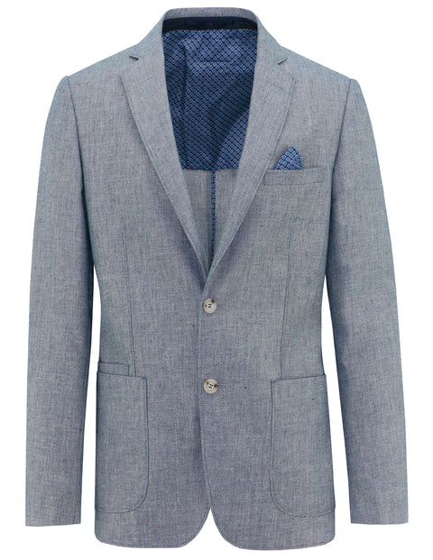 Christian Brookes Light Blue S18CB186-11 Sports Coat