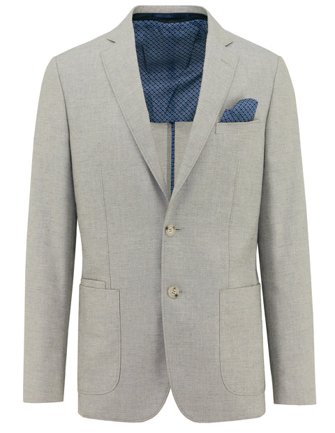 Christian Brookes Light Grey S18CB186-27 Sports Coat