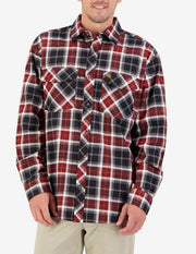 Egmont Full Button Brushed Cotton Shirt