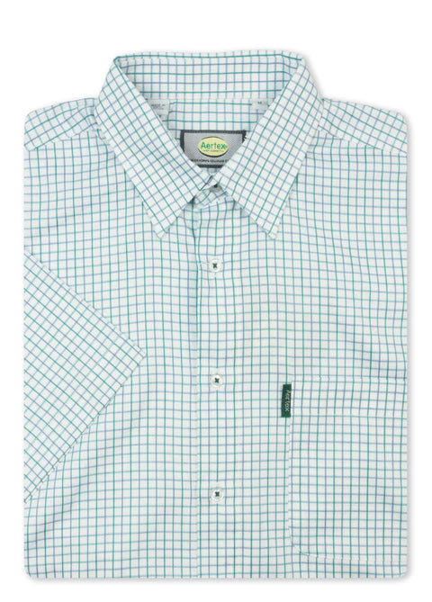 Aertex Green 88846L Classic Short Sleeve Shirt
