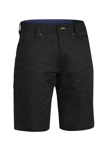 Bisley Black X Airflow Ripstop Vented Work Short