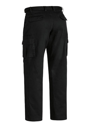 Bisley Black Original 8 Pocket Cargo Pant
