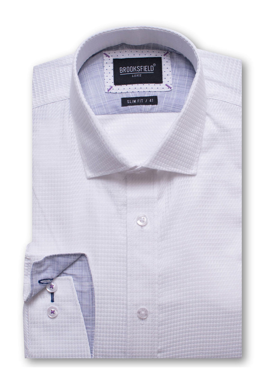 Luxe Textured Business Shirt