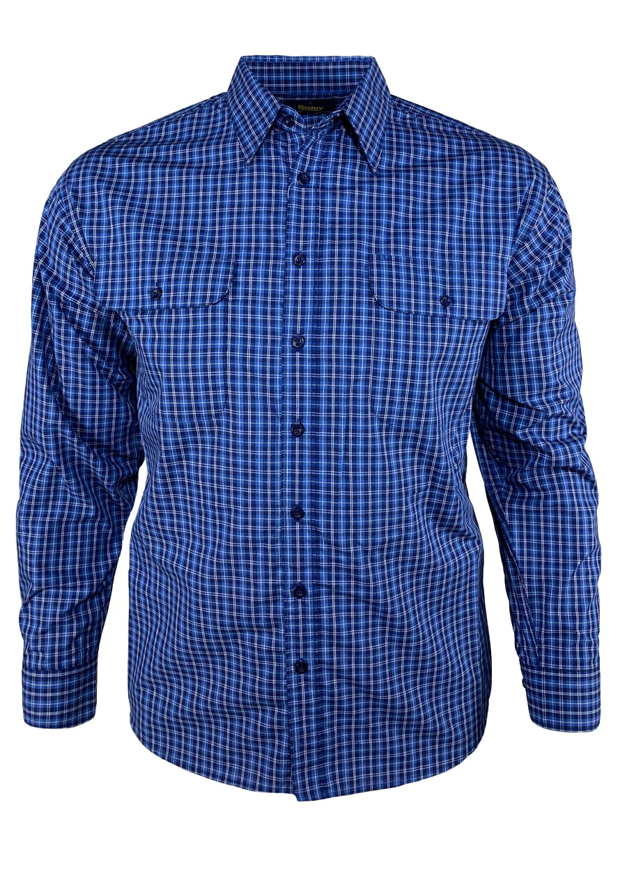 Small Check L/S Casual Shirt