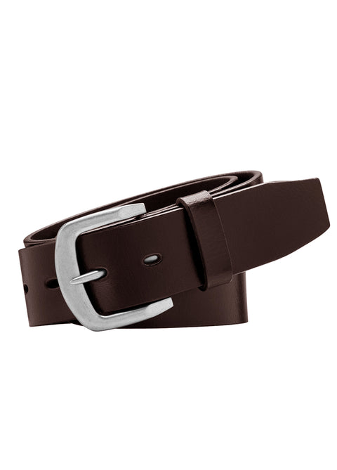 Bushman Full Grain Natural Leather Belt