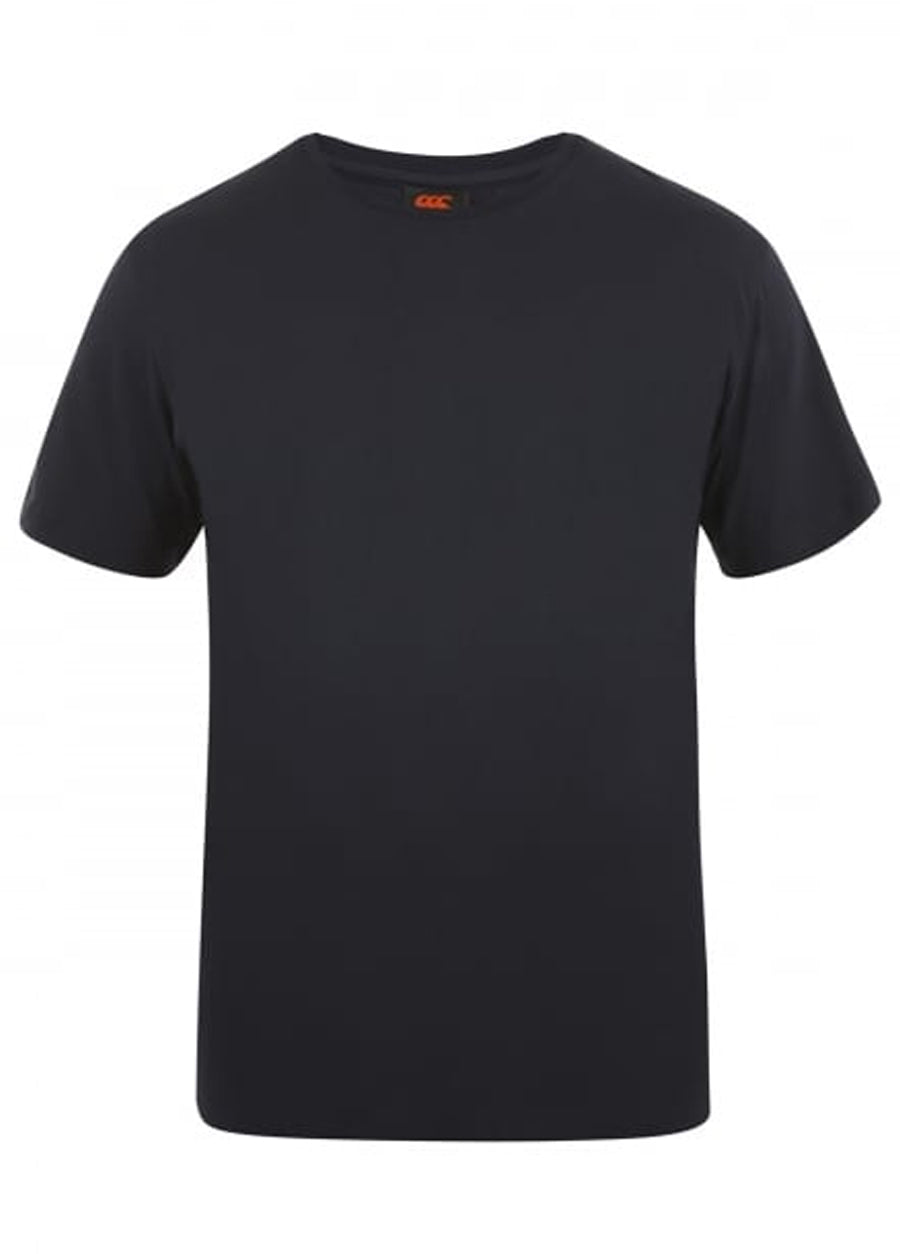 Canterbury Black E546668 Plain Tee