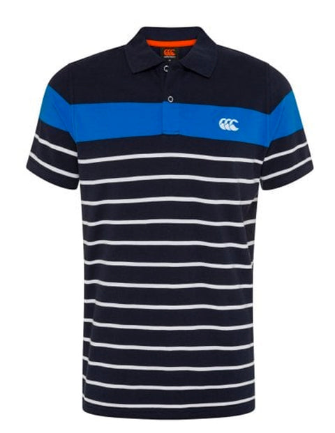 Canterbury Navy E534096 Engineer Stripe Polo
