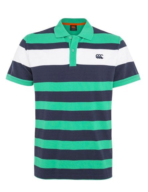 Canterbury Simply Green E533946 Yarn Dye Polo