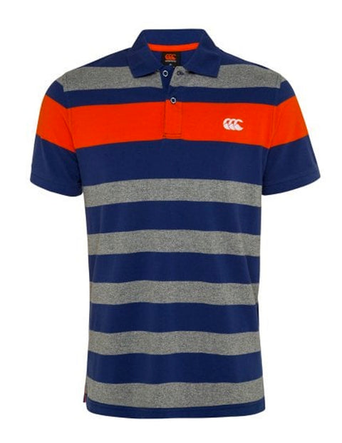 Canterbury Static Marl E533946 Yarn Dye Polo
