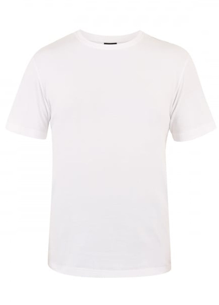 Canterbury White E546668 Plain Tee
