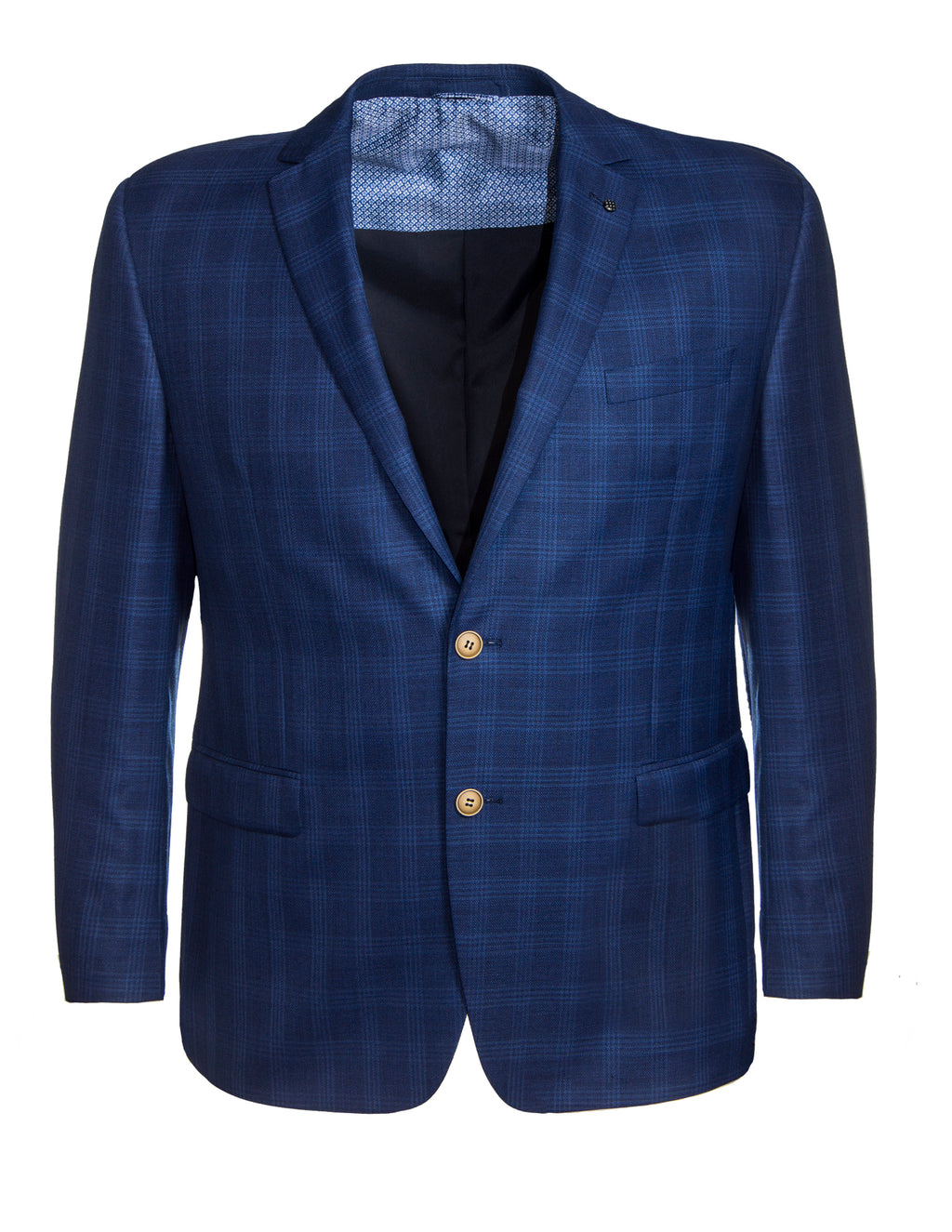 Daniel Hechter Blue Check S17B333M Wool Sports Coat