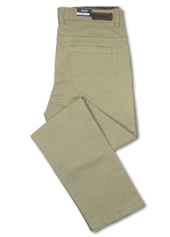 David Smith Khaki Dallas Pant