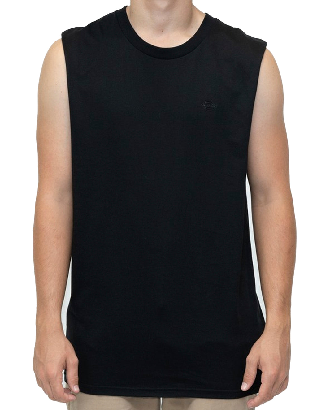 Dickies Black KU4180409X H.S Maine Muscle Tee